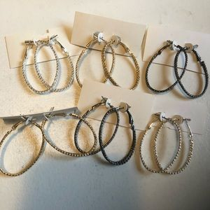 Jewelry - Hypo Allergenic post. Oval hoops. Sold separate